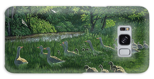 Gosling Galaxy Case - Last One In's A Duck by Raymond Ore