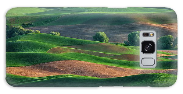 Late Afternoon In The Palouse Galaxy Case