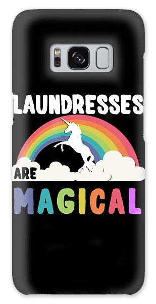 Laundresses Are Magical Galaxy Case