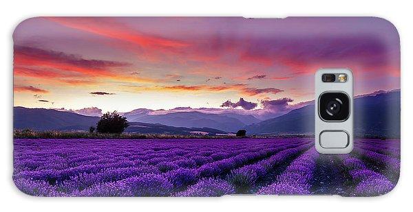 Lavender Season Galaxy Case