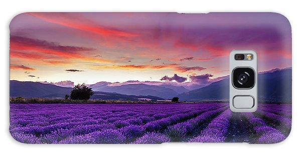 Rural Galaxy S8 Case - Lavender Season by Evgeni Dinev