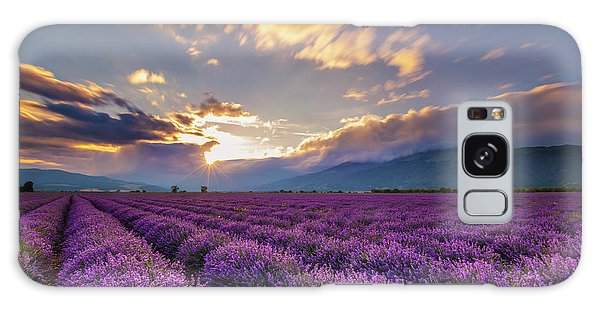 Lavender Sun Galaxy Case