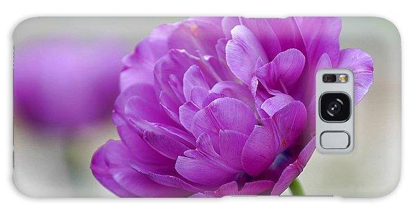 Lavender Tulip Galaxy Case