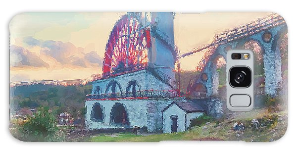 Galaxy Case - Laxey Wheel 2 by Digital Painting