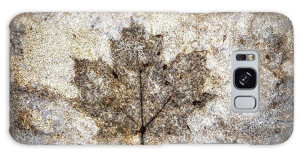 Leaf Imprint Galaxy Case