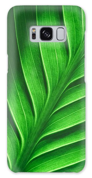 Leaf Pattern Galaxy Case