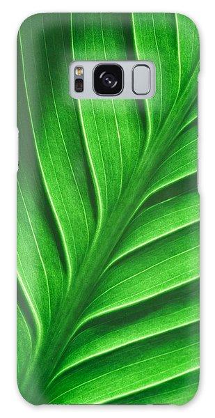 Leaf Pattern Galaxy Case