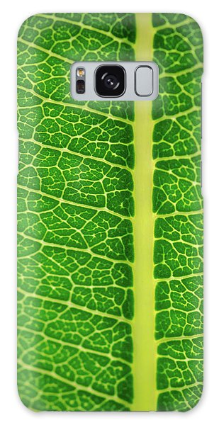 Leafy Detail Galaxy Case