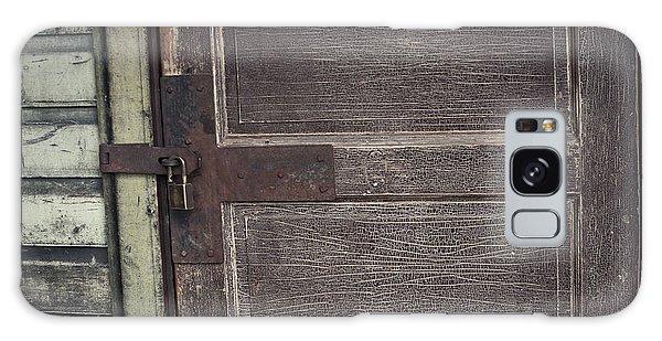 Leather Door Galaxy Case