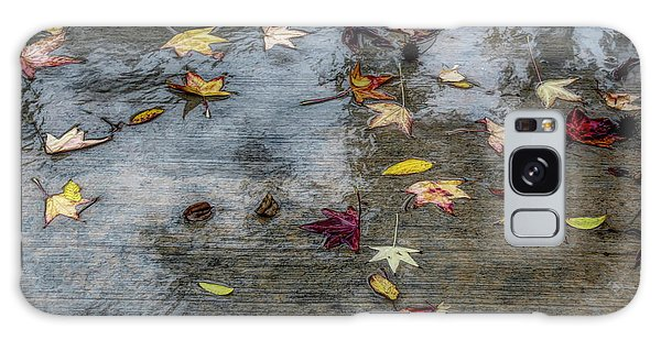 Leaves In The Rain Galaxy Case