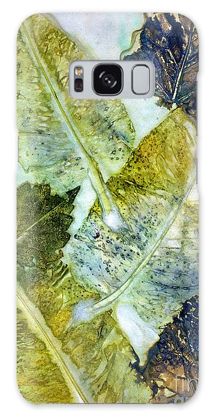 Leaves Of Nature Eco Dyed Print Galaxy Case
