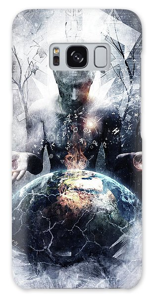 World Religion Galaxy Case - Left Of Me by Cameron Gray