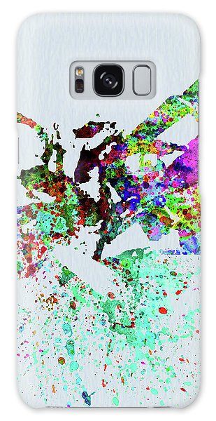 Clayton Galaxy Case - Legendary Buck Clayton Watercolor by Naxart Studio
