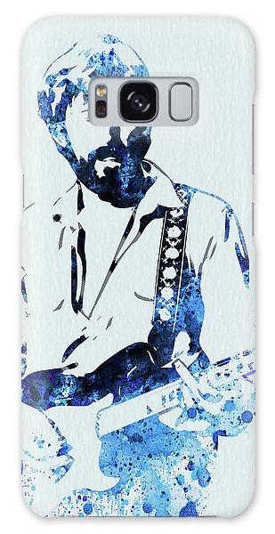Eric Clapton Galaxy Case - Legendary Eric Clapton Watercolor by Naxart Studio