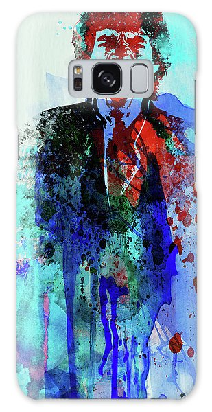 Stone Galaxy Case - Legendary Mick Jagger Watercolor by Naxart Studio