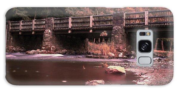Lehigh Parkway Robin Hood Bridge - Impressionism Galaxy Case