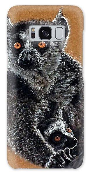 Lemurs Galaxy Case