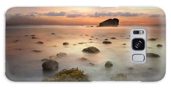 Malibu Sunset Galaxy Case