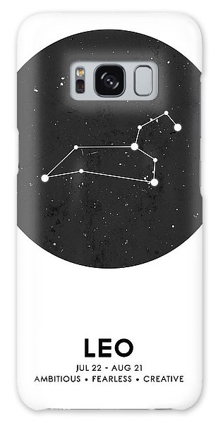 The Sky Galaxy Case - Leo Print - Zodiac Signs Print - Zodiac Posters - Leo Poster - Night Sky - Stars - Leo Traits by Studio Grafiikka