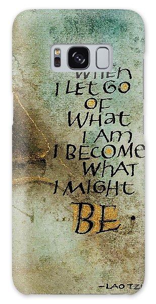 Let Go Galaxy Case