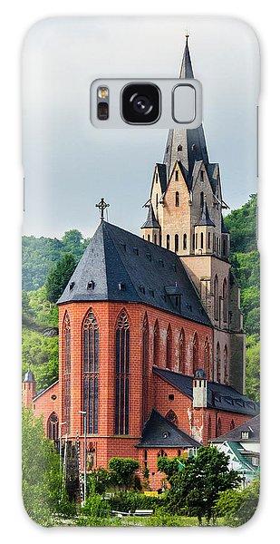 Liebfrauenkirche Oberwesel Galaxy Case