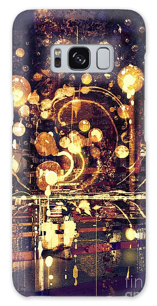 Glow Galaxy Case - Light Bulb,abstract Painting by Tithi Luadthong