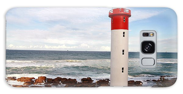 Shipping Galaxy Case - Lighthouse Umhlanga South Africa by Paul Banton