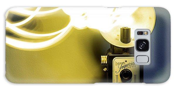 Lights, Camera, Action Galaxy Case