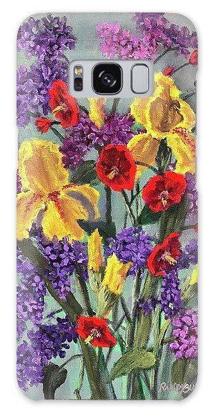Lilac Days Galaxy Case