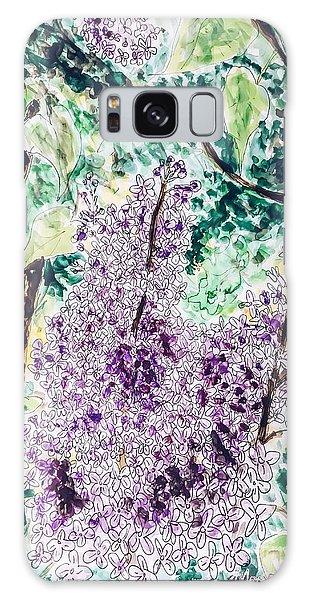 Lilac Dreams Galaxy Case