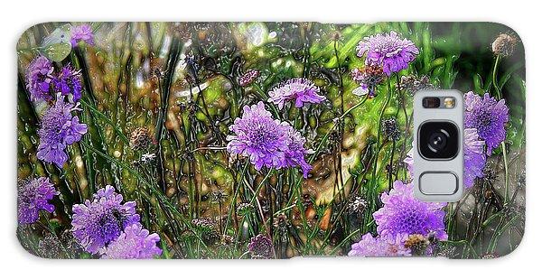 Lilac Jelly Pincushion Galaxy Case