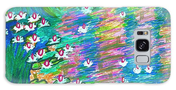 Lilies Of The Pond Galaxy Case