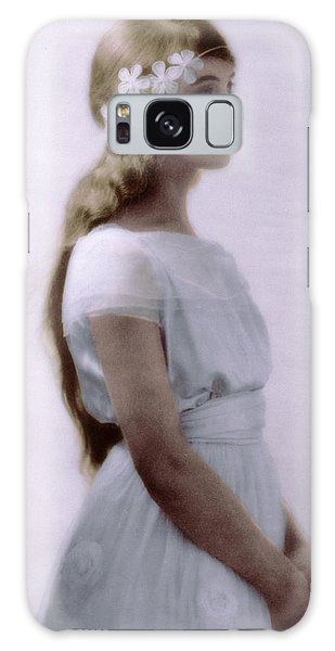 Lillian Gish Colorized Galaxy Case