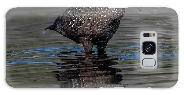 Galaxy Case featuring the photograph Limpkin by Ken Stampfer