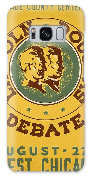 Vintage Chicago Galaxy Case - Lincoln Douglas Debate - Wpa - 1939 by War Is Hell Store