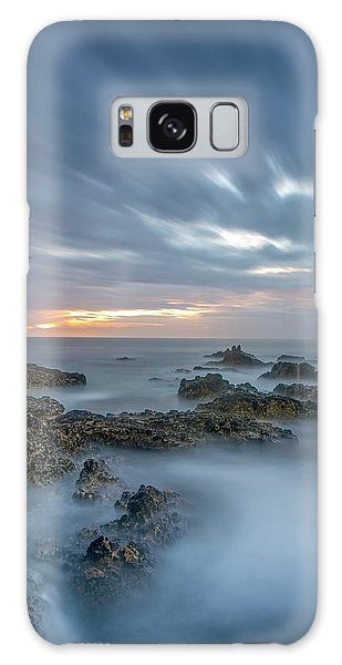 Galaxy Case featuring the photograph Lines - Matosinhos 2 by Bruno Rosa