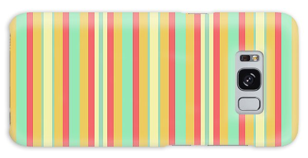 Lines Or Stripes Vintage Or Retro Color Background - Dde589 Galaxy Case