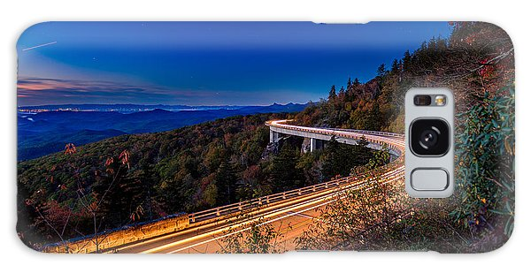 Linn Cove Viaduct - Blue Ridge Parkway Galaxy Case