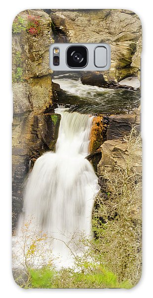Linville Falls - Closeup Galaxy Case