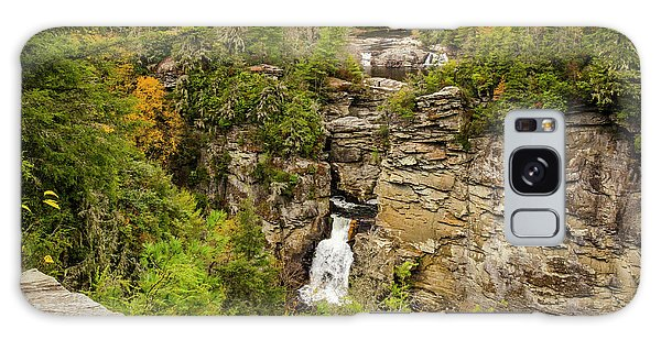 Linville Falls - Wide View Galaxy Case