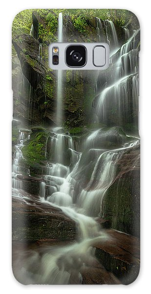 Linville Gorge - Waterfall Galaxy Case