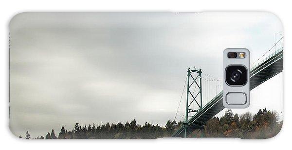 Lions Gate Bridge Vancouver Galaxy Case
