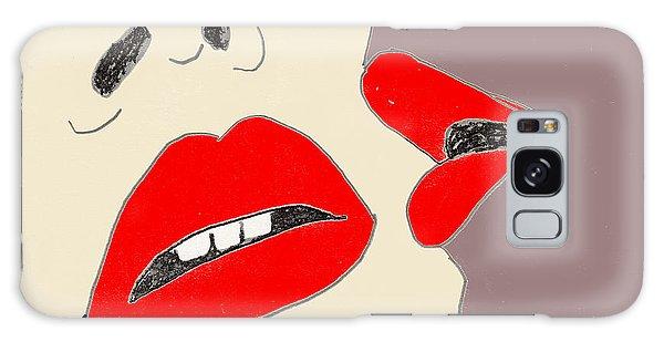 Lips Galaxy Case