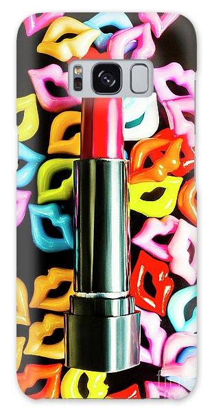 Beautiful Galaxy Case - Lipstick Lips by Jorgo Photography - Wall Art Gallery