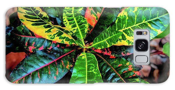 Liquid Tropical Colors Galaxy Case