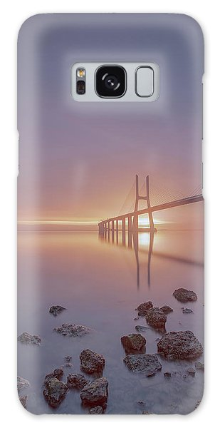 Galaxy Case featuring the photograph Lisbon.. Finally 2 by Bruno Rosa