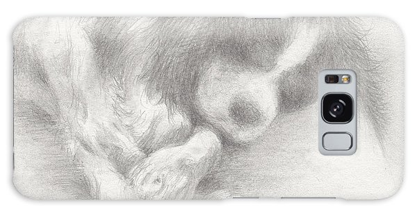 Galaxy Case - Little Doggy Dreams by Rachel Christine Nowicki