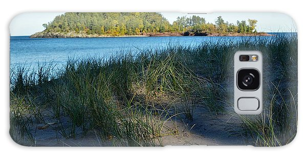 Little Presque Isle Island Galaxy Case