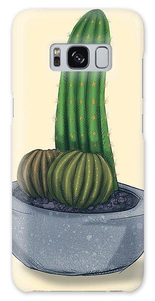 Plants Galaxy Case - Little Prick by Ludwig Van Bacon