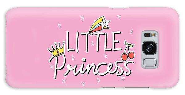 Little Princess - Baby Room Nursery Art Poster Print Galaxy Case